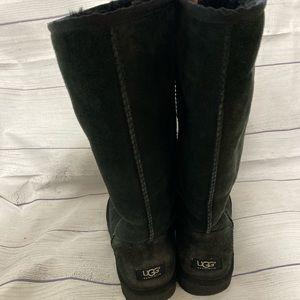 Black Tall Ugg Boots